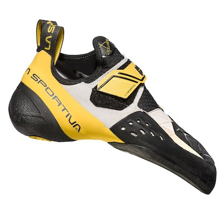 La Sportiva Solution hombre White/yellow 2018