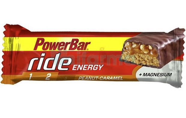 Powerbar barrita Ride Energy cacahuete-caramelo