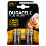 Duracell pilas AAA 1,5 V-LR03 Plus Power (pack 4)